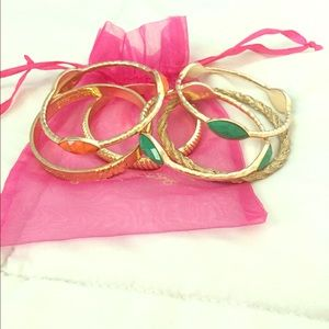 Bracelet Set of 6 including Lily Pulitzer